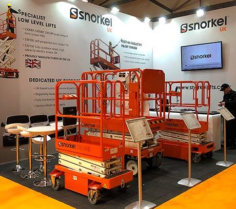 Snorkel UK Showcases Snorkel Low Level Access at the Executive Hire Show 2018