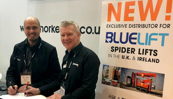 Snorkel UK appointed exclusive BLUELIFT distributor for UK & Ireland