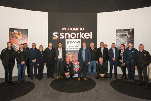 Snorkel UK welcomes The Access Alliance to Vigo Centre