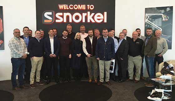 Snorkel UK welcomes access link