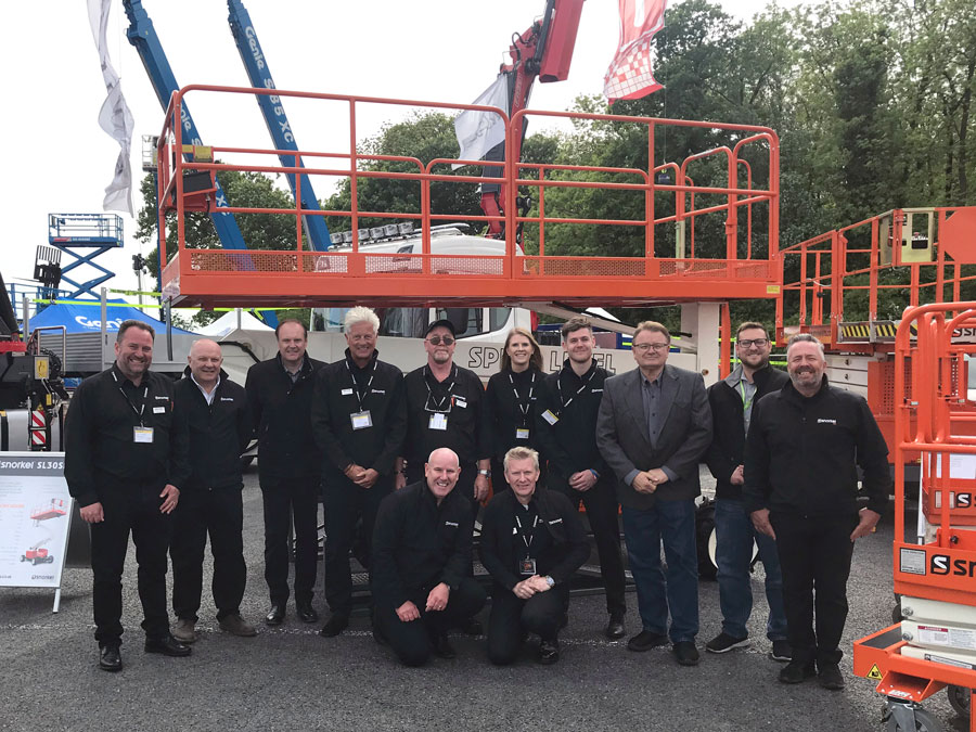 Snorkel launched biggest display at Vertikal days