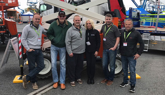 Linda Betts with Cannon-Access at Vertikal Days