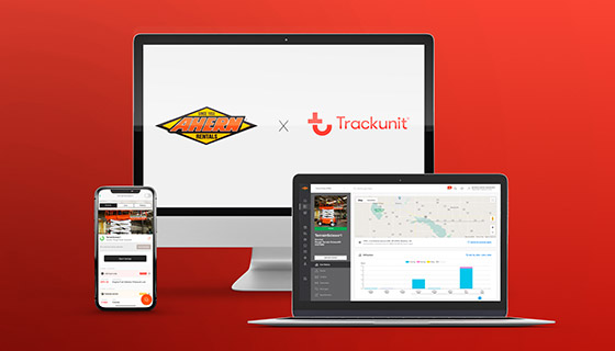 Trackunit will be rolled out across the Ahern Family of Companies, including Ahern Rentals